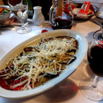 amazing italian cuisine in lake como after our ski tour to the italian alps