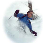 powder skiing in the Italian alps ski vacation.