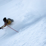 powder skiing in the italian alps!