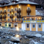 four star hotel used on our ski vacation in la thuile, in the Italian alps