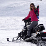 snowmobile tour in italy