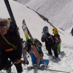 Backcountry guided ski tours in the European alps.
