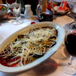 italian food is great at lake como, our post-ski tour extension trip