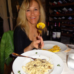 italian food on our european ski tour
