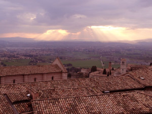 assisi-sunset