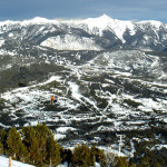 big sky scenery is spectacular on our ski tour package ski vacation to big sky