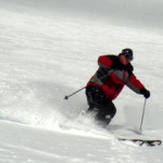 powder skiing on our ski vacation package to big sky montana