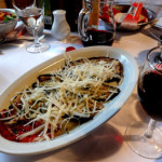 Gourmet meals on Lake Como on our post ski package in the alps to lake como.