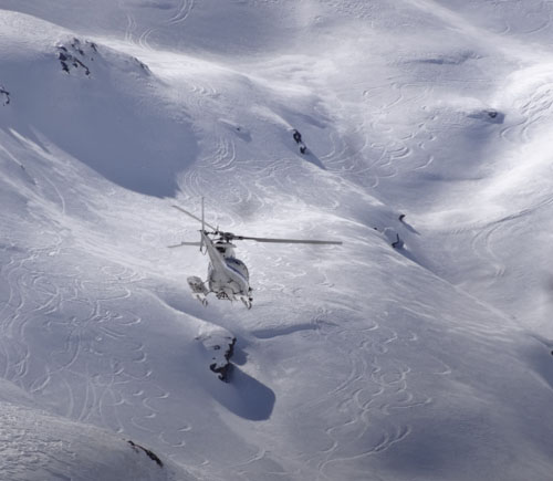 Heli skiing is stupendous at Madesimo. The terrain is huge and it is very affordable. The tracks are testaments to the fun had by the Morningstar crew 2 years ago.... gotta do it again!