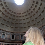 pantheon in rome italy on our rome tour before our ski vacations to the italian alps