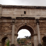 rome monuments in the forum,. come see them on our rome italy pre trip to our italian alps adventures.