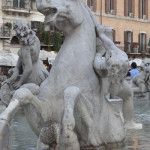 piazza navonna in rome italy