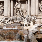 trevi fountain on our rome tour