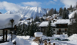 Champoluc village and Monte Rosa... What a place for you to spend a week!