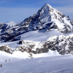 Wow! The skiing is MASSIVE in the Alps!