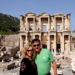 A tour of Ephesus is a must on your cruise. Visit the restored library, possibly connected to a brothel by a tunnel...no kidding!