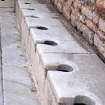 Ephesus toilets! No, they are no longer in use.