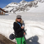 Just a little bit of snow! There was a base of 175 inches last year in the Italian alps. It was crazy coverage!