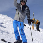 John gives a thumbs up for the skiing in Italy last year. It was his first Morningstar trip last year and we are pretty sure it won't be his last.