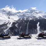 Scenery and snowmobiles followed by a 2 hour Italian lunch...pretty much a perfect day.