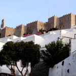 A medieval fortress on the island of Patmos.