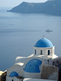 Greek island cruise and greece tour after europan ski tour week