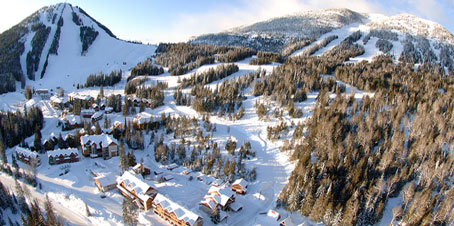 red mountain resort aerial