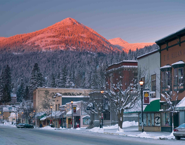 Red Mountain and Rossland, the cool Canadian town at its base, is the perfect combo for a great uncrowded New Year's ski week.