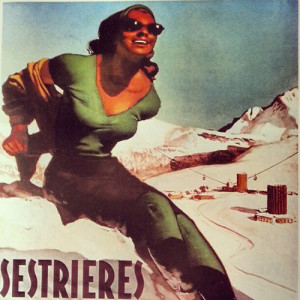 sestriere poster
