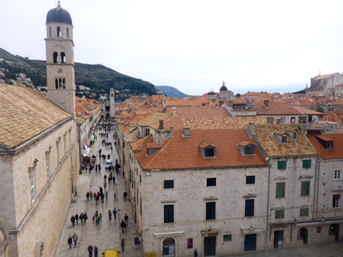 Dubrovnik without the hoards of tourists... that is what you will find when you join us in March.