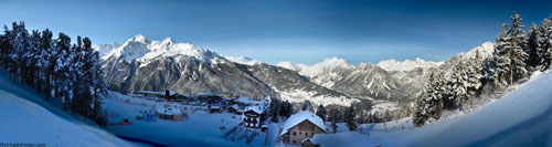 Bormio - panoramic winter