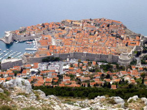dubrovnik from napoleon fortress