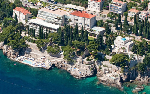 5-star splurg in Dubrovnik! Our Hotel Gran Villa Argentina right on the sea is over $500 a night in peak season. We include sea view rooms with breakfast in our Croatian Dream tour. Do the math. Our tour is a GREAT value!