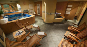 A wonderful spa awaits you at the end of each ski day at the Larici Biano.