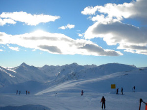 Nearby Livigno is a large resort that is located next to a huge duty free shopping area.  Ski and shop till ya drop!