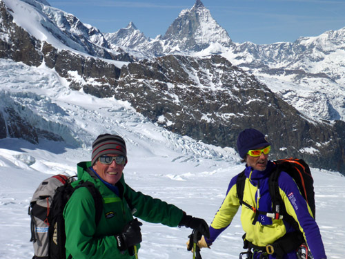 Our Alpine Guides are some of the best, most knowledgeable skiers in the world. It is a joy to ski and learn from them.