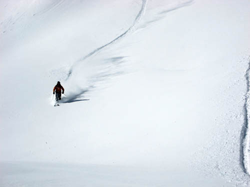 Perfect powder day years ago in Sestriere... hoping for more of same!