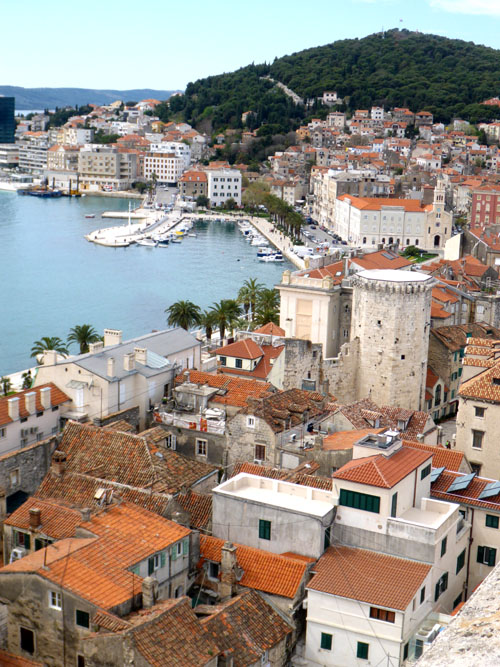 Coastline of Split... Adriatic beauty at its best.