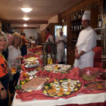 A special night! A feast highlighting the local specialties offered by our fab Bormio hotel.