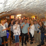 What a fun night! We all celebrated Deb's 60th with a great dinner in the basement of a castle in Ogulin!