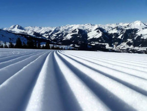 Miles and miles of perfect groomers are waiting for you in Kitzbuhel.