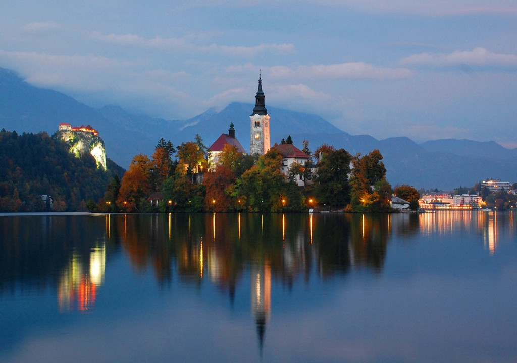 Lake Bled is one of the wonders of Europe. Spend two nights with us there on our Slovenia tour.