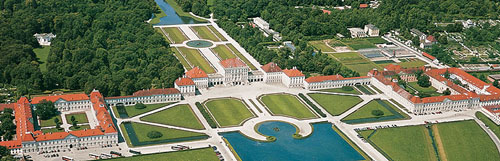 The grounds of the Nymphenburg Palace, steps away from our hotel, are as spectacular as the palace itself.