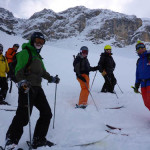 Some of the Morningstar crew in the backcountry. it was a great week.