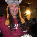 Vikings invaded our hotel one night. No problem. Skiman dispatched him quickly.