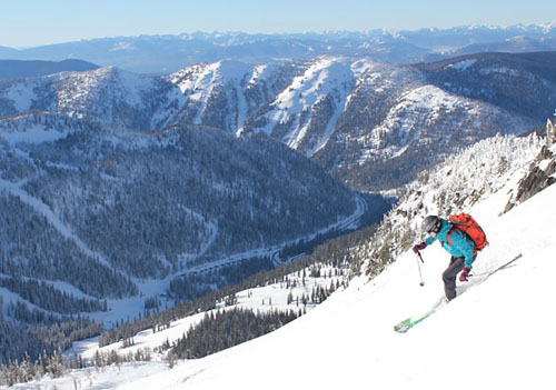 Whitewater is gorgeous! We know you will love the spectacular skiing here.