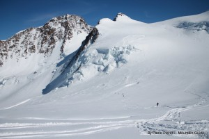 Powder, ice walls, sunshine.. it was an epic day, one we will repeat this year.
