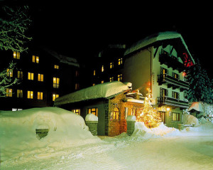 Hotel Courmayeur is right in the heart of the village and the pedestrian walkway. It is family-run, warm, and charming... a perfect place to spend your week. AND breakfast and dinner are included!