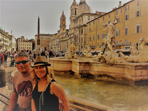 The Bernini fountains in the center of Piazza Navonna are some of the most beautiful in the world. We are taking you there on our walking tour.