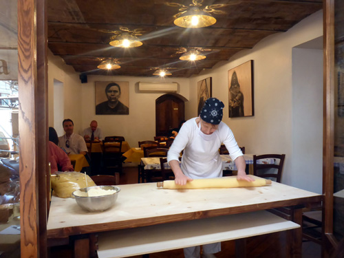 This lady makes a mean pasta! We will take you for lunch at this locals restaurant on our walking tour day.